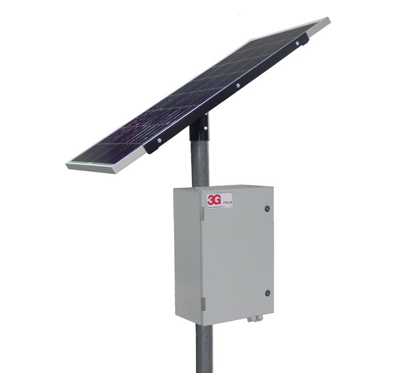 Monitoraggio pannelli fotovoltaici stand-alone